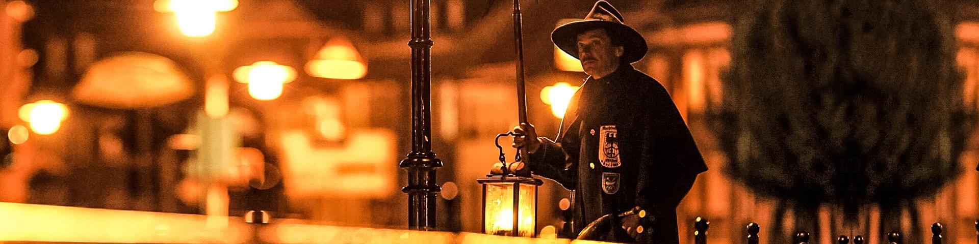 Nachtwächter in Luebben im Spreewald
