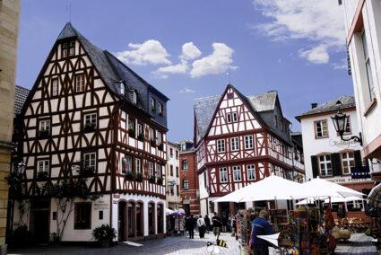 Historische Altstadt in Mainz