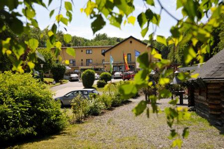 Außenansicht vom Hotel Felschbachhof im Nahetal