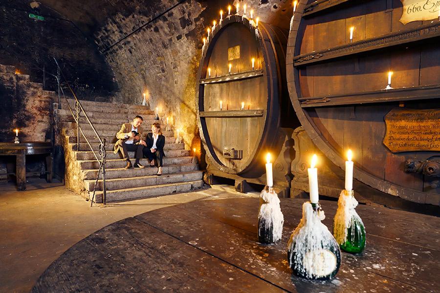 Großer Weinkeller in Würzburg